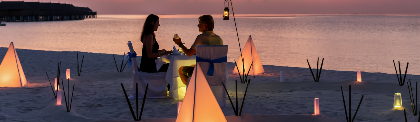 Honeymoon Holidays - Couple on beach